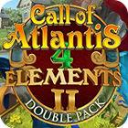 Žaidimas 4 Elements II - Call of Atlantis Treasures of Poseidon Double Pack