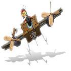Žaidimas El Airplane