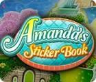 Žaidimas Amanda's Sticker Book
