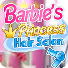 Žaidimas Barbie Princess Hair Salon
