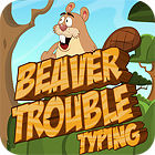 Žaidimas Beaver Trouble Typing