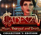 Žaidimas Cadenza: Music, Betrayal and Death Collector's Edition