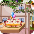 Žaidimas Cake Master: Carrot Cake