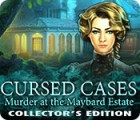 Žaidimas Cursed Cases: Murder at the Maybard Estate Collector's Edition