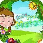 Žaidimas Cute Fruit Match