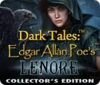 Žaidimas Dark Tales: Edgar Allan Poe's Lenore Collector's Edition