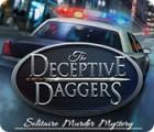 Žaidimas The Deceptive Daggers: Solitaire Murder Mystery