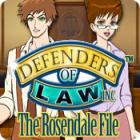 Žaidimas Defenders of Law: The Rosendale File