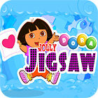 Žaidimas Dora the Explorer: Jolly Jigsaw