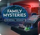 Žaidimas Family Mysteries: Criminal Mindset