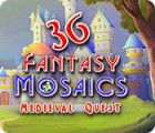 Žaidimas Fantasy Mosaics 36: Medieval Quest