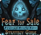 Žaidimas Fear For Sale: Mystery of McInroy Manor Strategy Guide