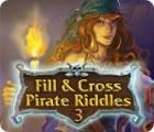 Žaidimas Fill and Cross Pirate Riddles 3