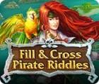 Žaidimas Fill and Cross Pirate Riddles