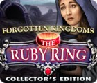 Žaidimas Forgotten Kingdoms: The Ruby Ring Collector's Edition