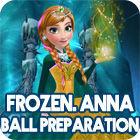 Žaidimas Frozen. Anna Dress Up