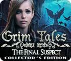Žaidimas Grim Tales: The Final Suspect Collector's Edition