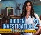 Žaidimas Hidden Investigation 2: Homicide