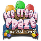 Žaidimas Ice Cream Craze: Natural Hero