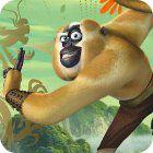 Žaidimas Kung Fu Panda 2 Monkey Run