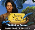 Žaidimas Memoirs of Murder: Behind the Scenes Collector's Edition