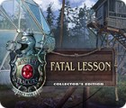 Žaidimas Mystery Trackers: Fatal Lesson Collector's Edition