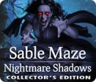 Žaidimas Sable Maze: Nightmare Shadows Collector's Edition